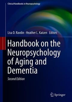 Cover of the book Handbook on the Neuropsychology of Aging and Dementia
