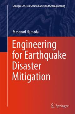 Couverture de l'ouvrage Engineering for Earthquake Disaster Mitigation
