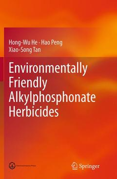 Cover of the book Environmentally Friendly Alkylphosphonate Herbicides