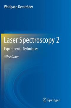 Couverture de l'ouvrage Laser Spectroscopy 2