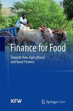 Couverture de l'ouvrage Finance for Food