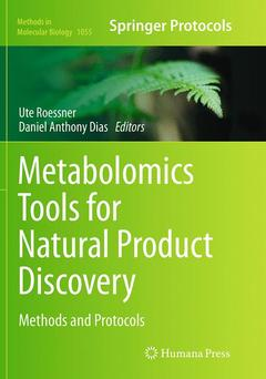 Couverture de l'ouvrage Metabolomics Tools for Natural Product Discovery