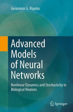 Couverture de l'ouvrage Advanced Models of Neural Networks