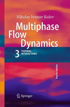 Couverture de l'ouvrage Multiphase flow dynamics 3
