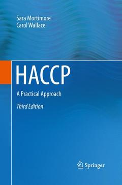 Couverture de l'ouvrage HACCP