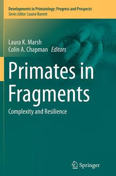 Cover of the book Primates in Fragments