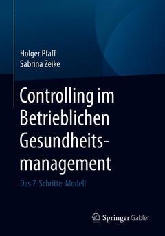 Couverture de l'ouvrage Controlling des Betrieblichen Gesundheitsmanagements