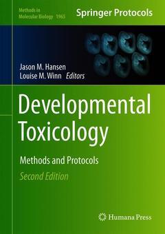 Couverture de l'ouvrage Developmental Toxicology