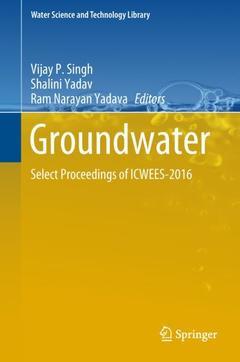 Couverture de l'ouvrage Groundwater