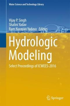 Couverture de l'ouvrage Hydrologic Modeling