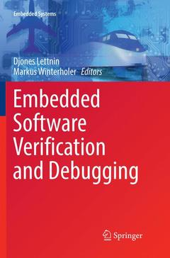 Cover of the book Embedded Software Verification and Debugging