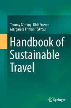 Cover of the book Handbook of Sustainable Travel