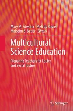 Couverture de l'ouvrage Multicultural Science Education