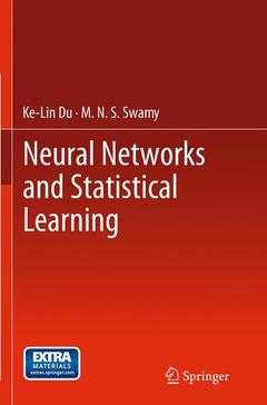 Couverture de l'ouvrage Neural Networks and Statistical Learning