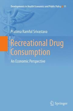 Couverture de l'ouvrage Recreational Drug Consumption