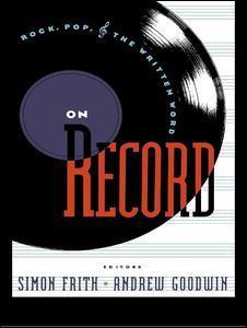 Couverture de l'ouvrage On Record