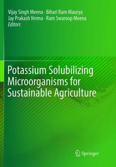 Cover of the book Potassium Solubilizing Microorganisms for Sustainable Agriculture