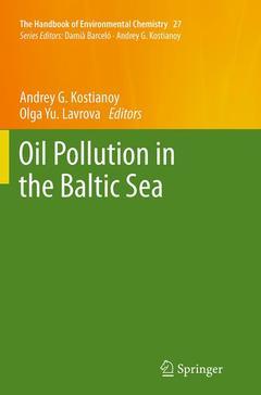 Couverture de l'ouvrage Oil Pollution in the Baltic Sea