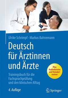 Couverture de l'ouvrage Deutsch für Ärztinnen und Ärzte
