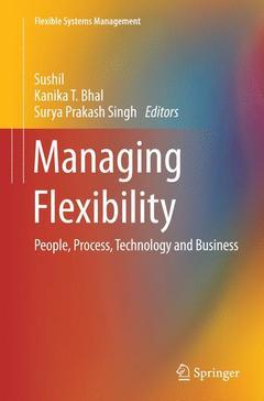 Couverture de l'ouvrage Managing Flexibility