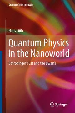 Couverture de l'ouvrage Quantum physics in the nanoworld