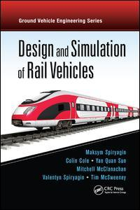 Couverture de l'ouvrage Design and Simulation of Rail Vehicles