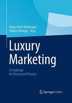 Couverture de l'ouvrage Luxury marketing