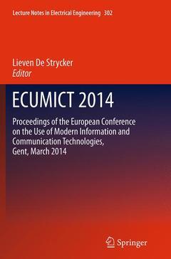 Cover of the book ECUMICT 2014