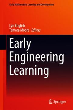 Couverture de l'ouvrage Early Engineering Learning