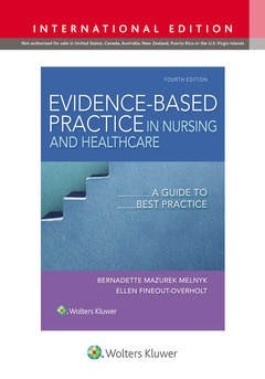 Couverture de l'ouvrage Evidence-Based Practice in Nursing & Healthcare