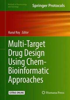 Cover of the book Multi-Target Drug Design Using Chem-Bioinformatic Approaches