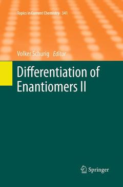 Cover of the book Differentiation of Enantiomers II