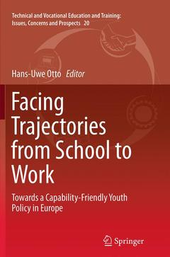 Couverture de l'ouvrage Facing Trajectories from School to Work