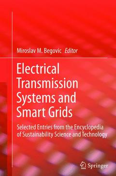 Couverture de l'ouvrage Electrical Transmission Systems and Smart Grids