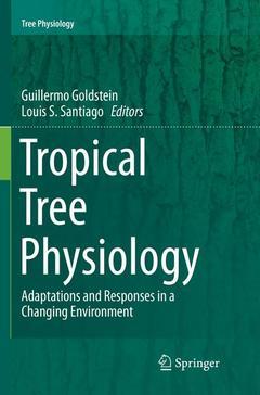 Couverture de l'ouvrage Tropical Tree Physiology