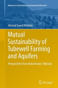 Couverture de l'ouvrage Mutual Sustainability of Tubewell Farming and Aquifers