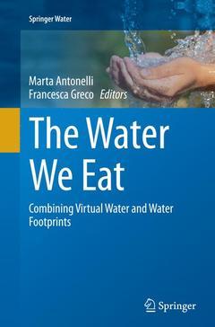 Couverture de l'ouvrage The Water We Eat