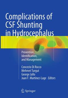 Cover of the book Complications of CSF Shunting