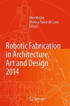 Couverture de l'ouvrage Rob|Arch 2014