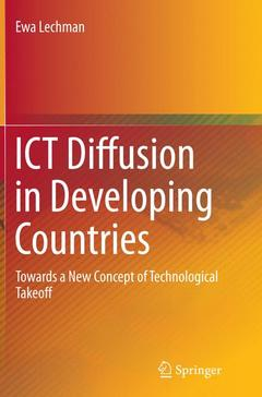 Couverture de l'ouvrage ICT Diffusion in Developing Countries