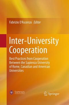 Couverture de l'ouvrage Inter-University Cooperation