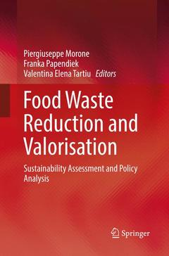 Cover of the book Food Waste Reduction and Valorisation