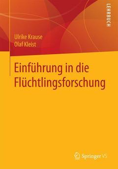 Couverture de l'ouvrage Einführung in die Flüchtlingsforschung