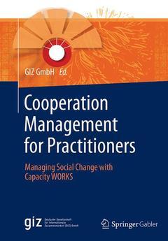 Couverture de l'ouvrage Cooperation Management for Practitioners