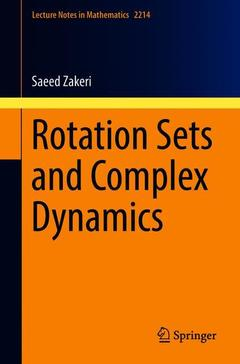 Couverture de l'ouvrage Rotation Sets and Complex Dynamics