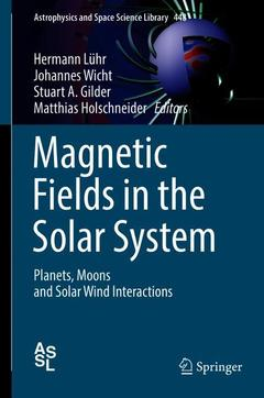 Cover of the book Magnetic Fields in the Solar System