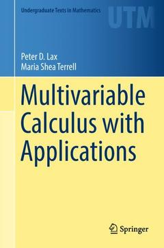 Couverture de l'ouvrage Multivariable Calculus with Applications