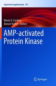Couverture de l'ouvrage AMP-activated Protein Kinase