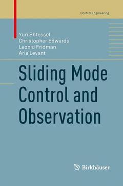 Cover of the book Sliding Mode Control and Observation