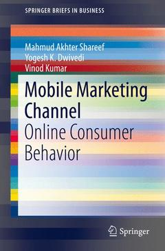 Couverture de l'ouvrage Mobile Marketing Channel